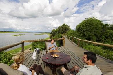 Chobe Game Lodge Boardwalk & Deck