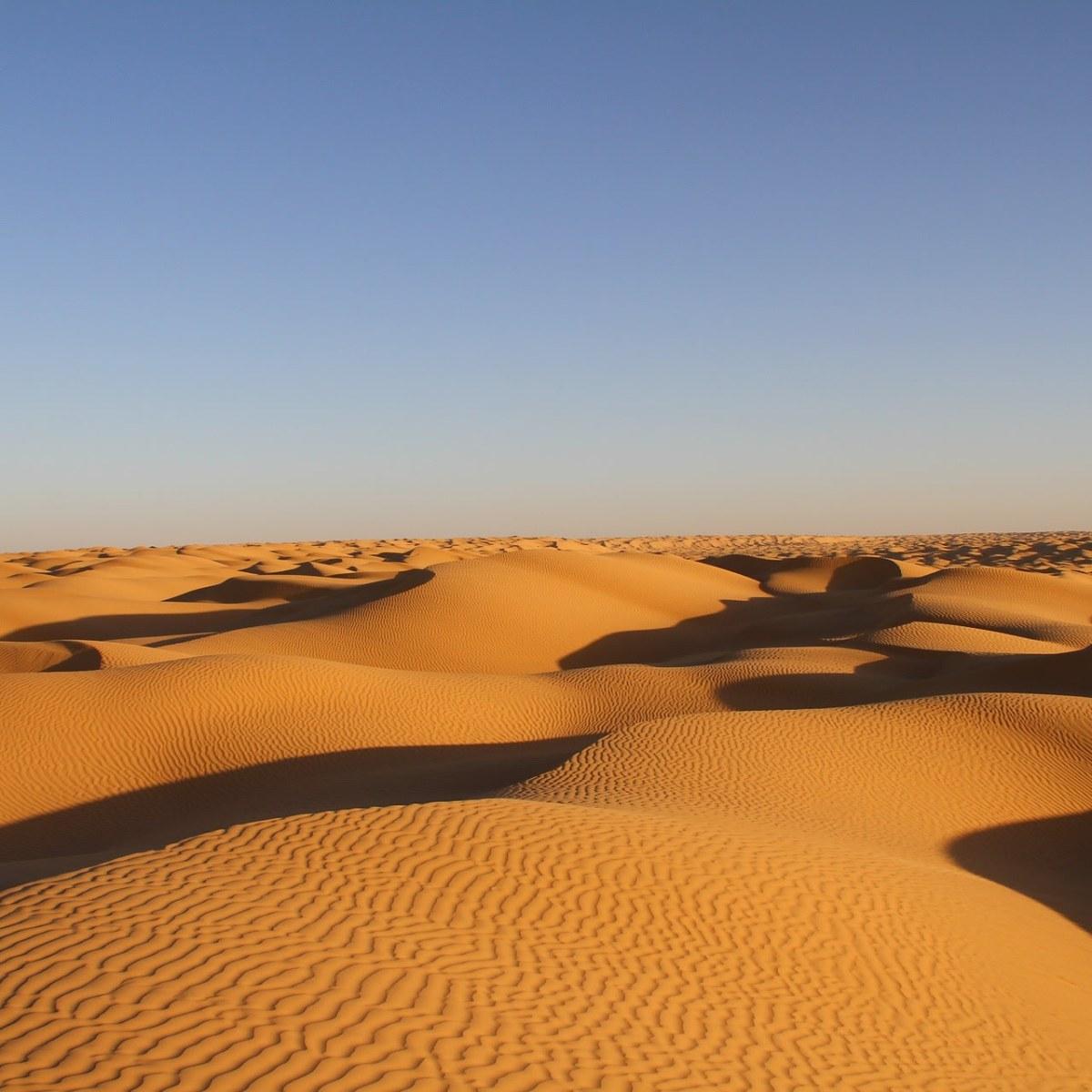 Tunesien - Wüstensand und Karawanentrails unter der Sonne Nordafrikas