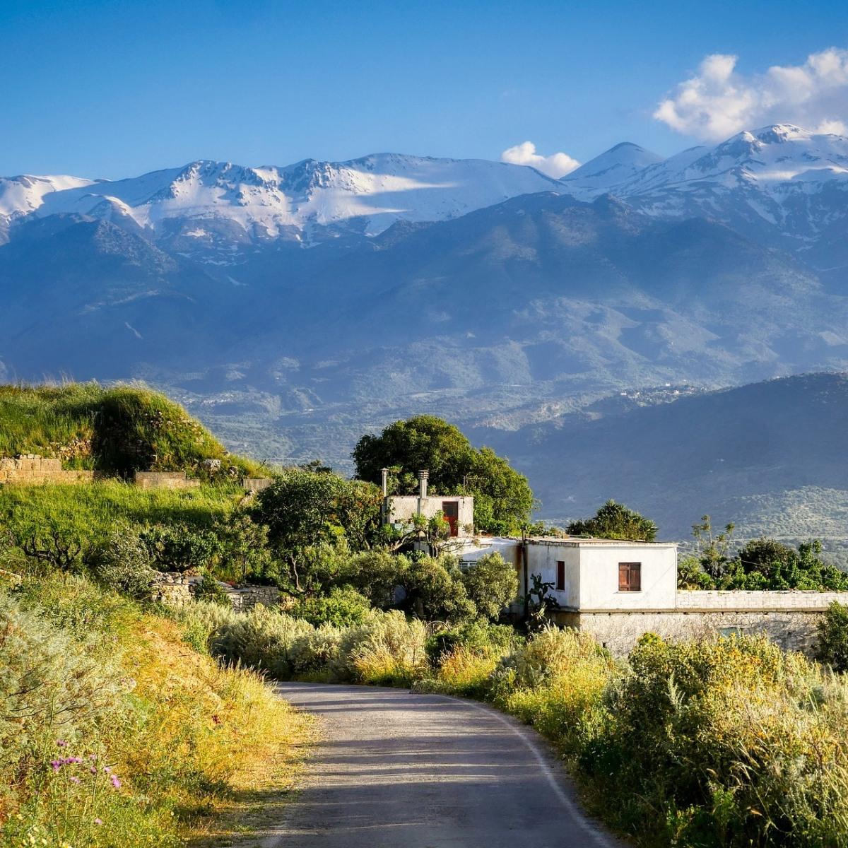 Genieße den Sommer und den Wein auf Kreta