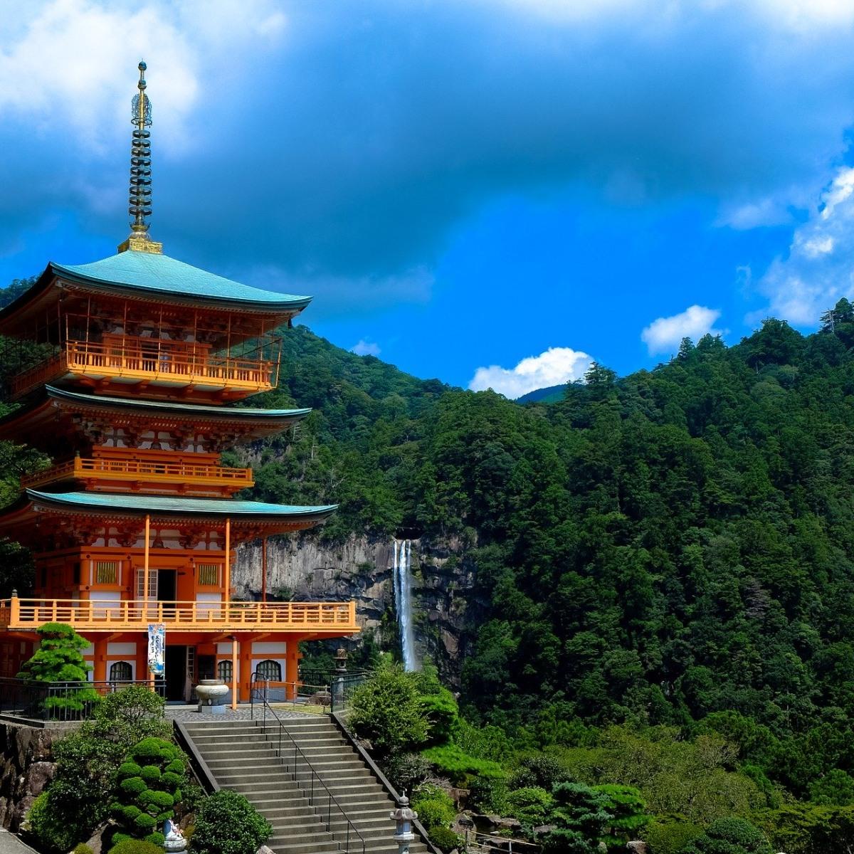 Wandern, Fahrrad und Kajak. Japan aktiv. Von Osaka nach Tokio