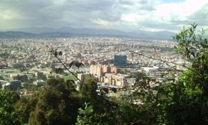 Bogota von oben