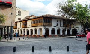 Cuenca-gebäude