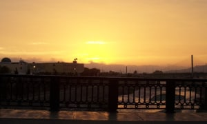 Lima Sonnenuntergang
