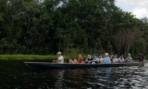 Kanufahrt Regenwald Ecuador