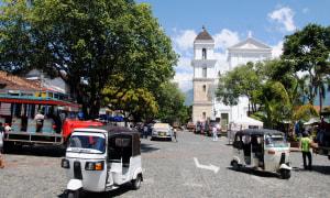 Straße-Antioquia