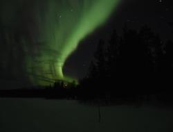 Ankunft und Polarlicht