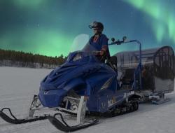 Freier Tag und Fahrt mit dem Aurora Snow Train