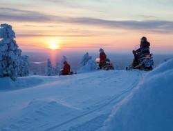 Schneemobiltag