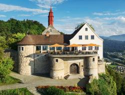 Historische Tafeley (Ritteressen) hoch über Bregenz