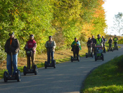Segway Event in Hohenlohe