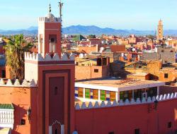 Ankunft in Marrakesch