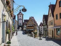 Ausflug nach Rothenburg und Feuchtwangen