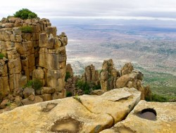 Graaff-Reinet - Valley of Desolation & Mountain Zebra Nationalpark