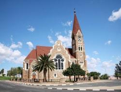 Ankunft am Flughafen und Übernachtung in Windhoek