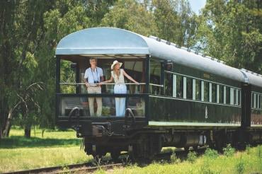 4 Tage Luxus Zugreise zu den Victoria Falls