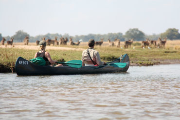 3 Tage Kanu Safari von Kariba nach Chirundu
