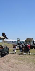 Flug nach Mombasa