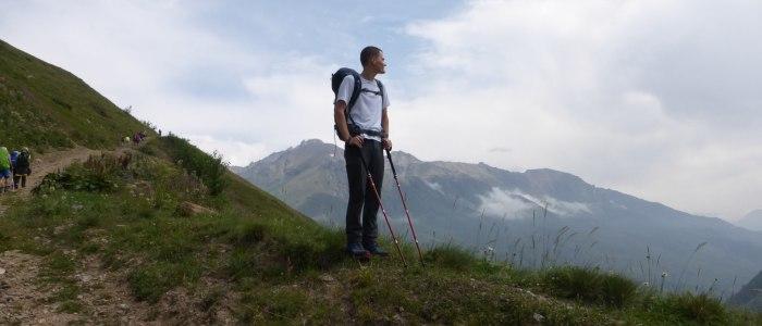 Die Gipfel des Kaukasus