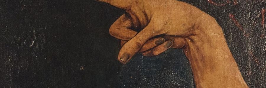 Colmar_Detail aus dem Isenheimer Altar