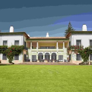 Aussenansicht der Quinta da Casa Branca