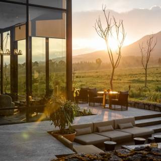 Singita Kwitonda Lodge im Volcanoes Nationalpark in Ruanda