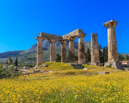 Peloponnes_ Korinth _Apollon Tempel