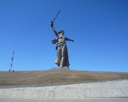 Russland_Wolgograd_ Mamaev Kurgan