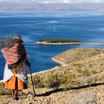 Die Spuren der Inkas und die Weite der Salzwüste