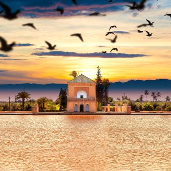 Berge, Meer und der Zauber Marrakeschs