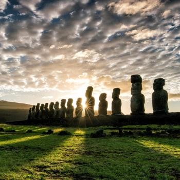 Chiles Festland und die Osterinseln