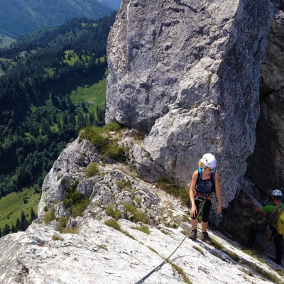 Klettern an der Kampenwand