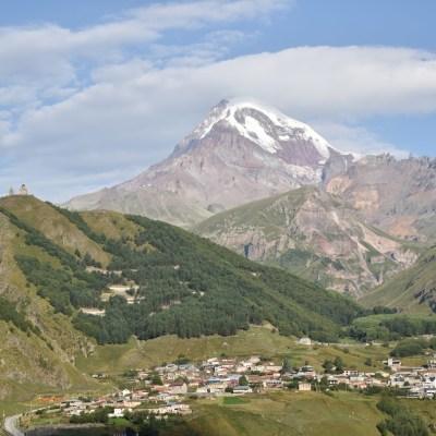 Kazbek & Elbrus