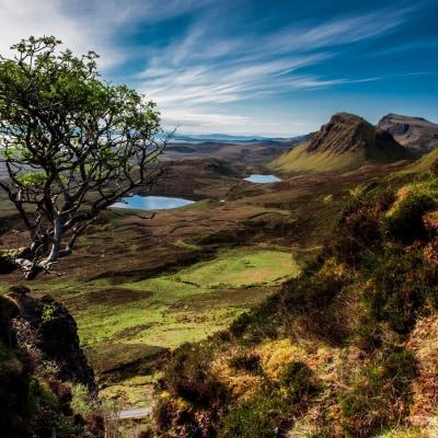 Von den Hebriden zum Hochland