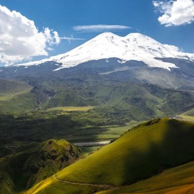 Elbrus Überquerung Nord-Süd