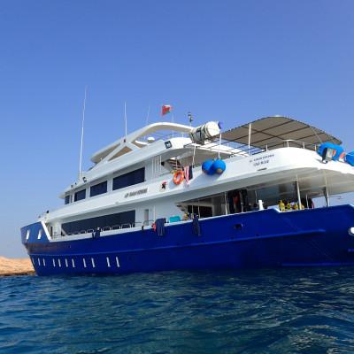 MV Oman Explorer - InterDive Messespecial
