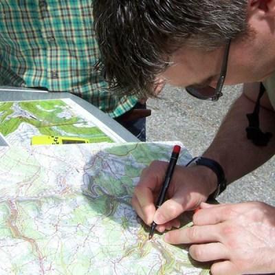 GPS Rallye Teamevent. Unterwegs in der Natur. Spaß und Herausforderung