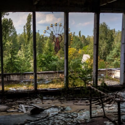 Lost Places Tschernobyl Zone in Belarus