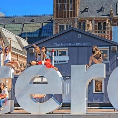 Quitschlebendiges Amsterdam