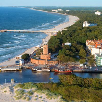 Kur und Erholung an der polnischen Ostseeküste