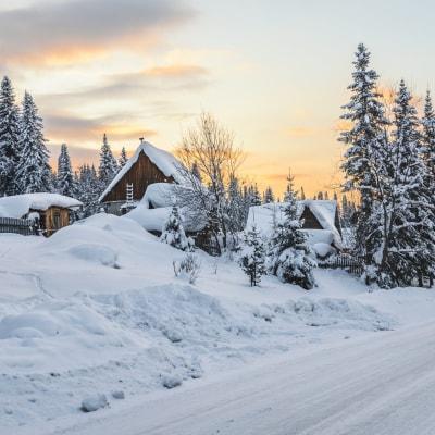 Frostiges Sibirien