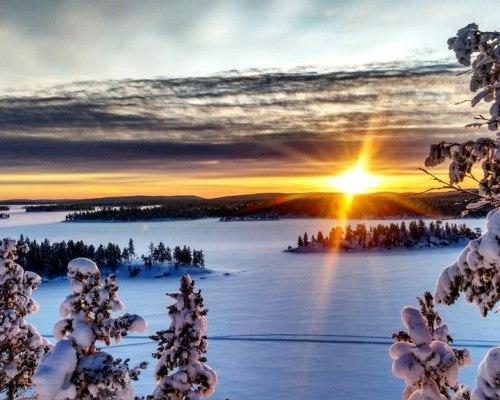 Husky, Schneemobil und Nordlichttour