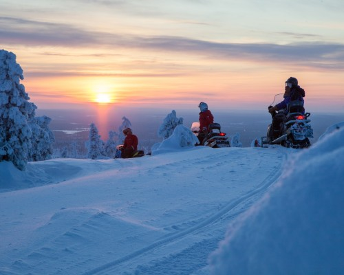 Wintertraum Lappland