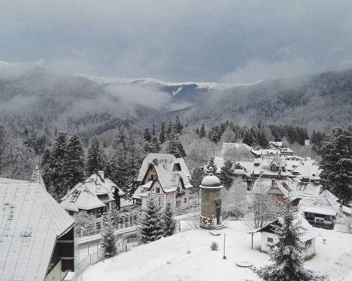 Schneeschuhwandern Karpaten