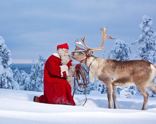 Reise zum Weihnachtsmann