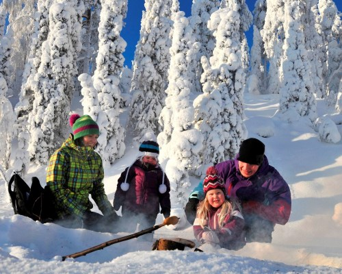 Winter Aktivtour Finnland