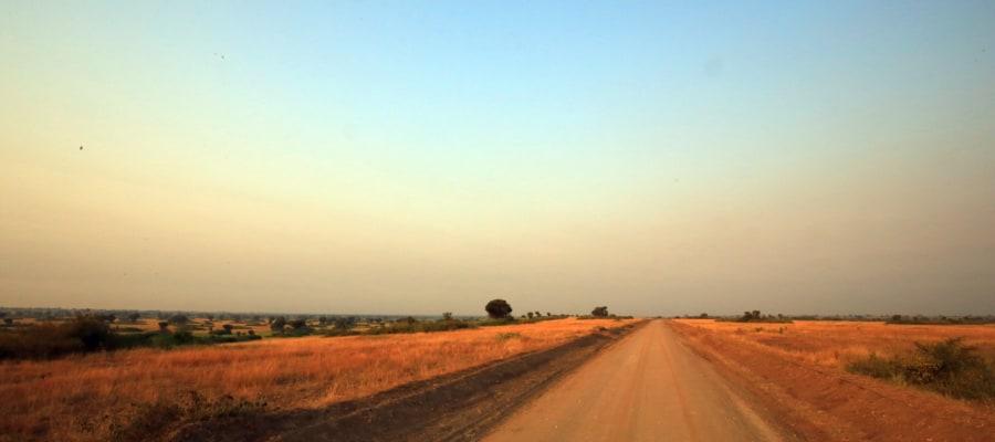 Strasse in Uganda