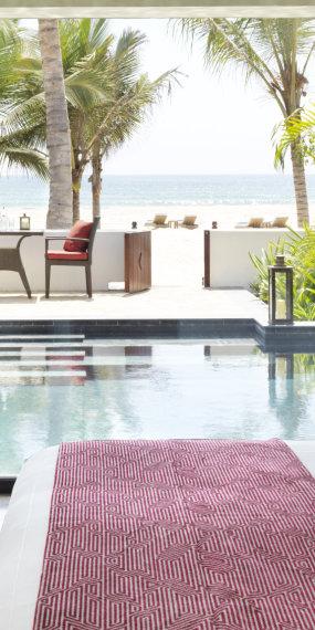 Poolvilla am Strand mit 1 Schlafzimmer