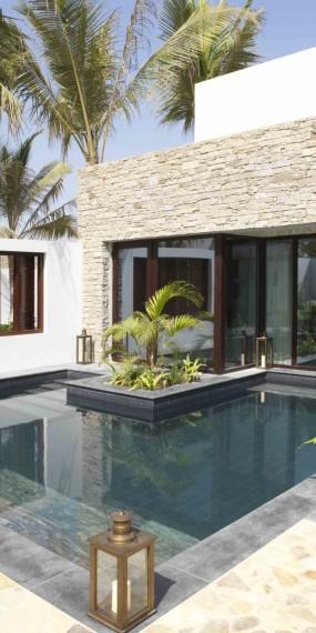 Poolvilla mit 1 Schlafzimmer und Gartenblick