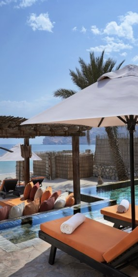 Pool-Villa-Suite am Strand