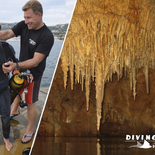 Diving Dragonera